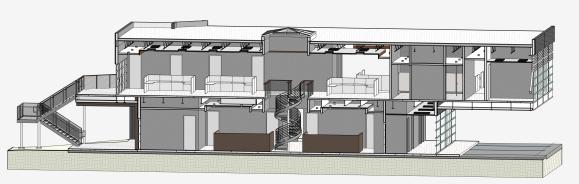 Atrium Section Perspective